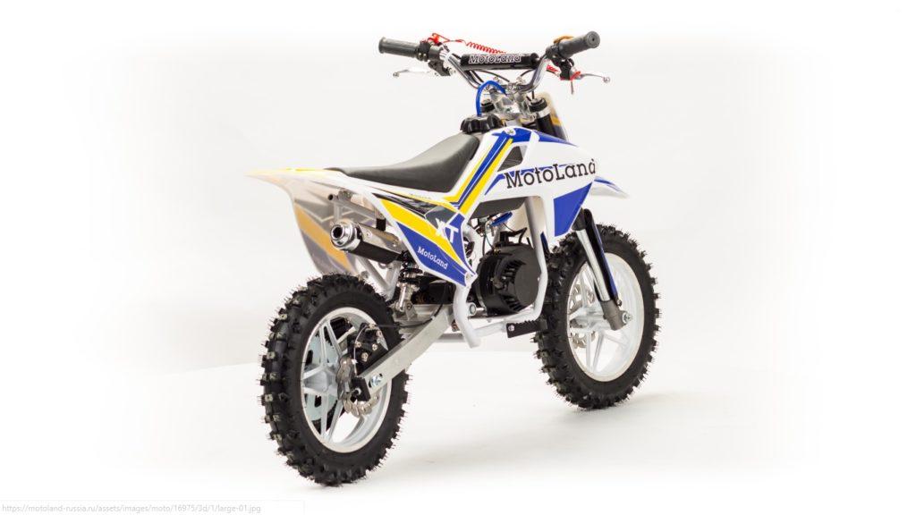 Детский кроссовый мотоцикл Motoland XT50
