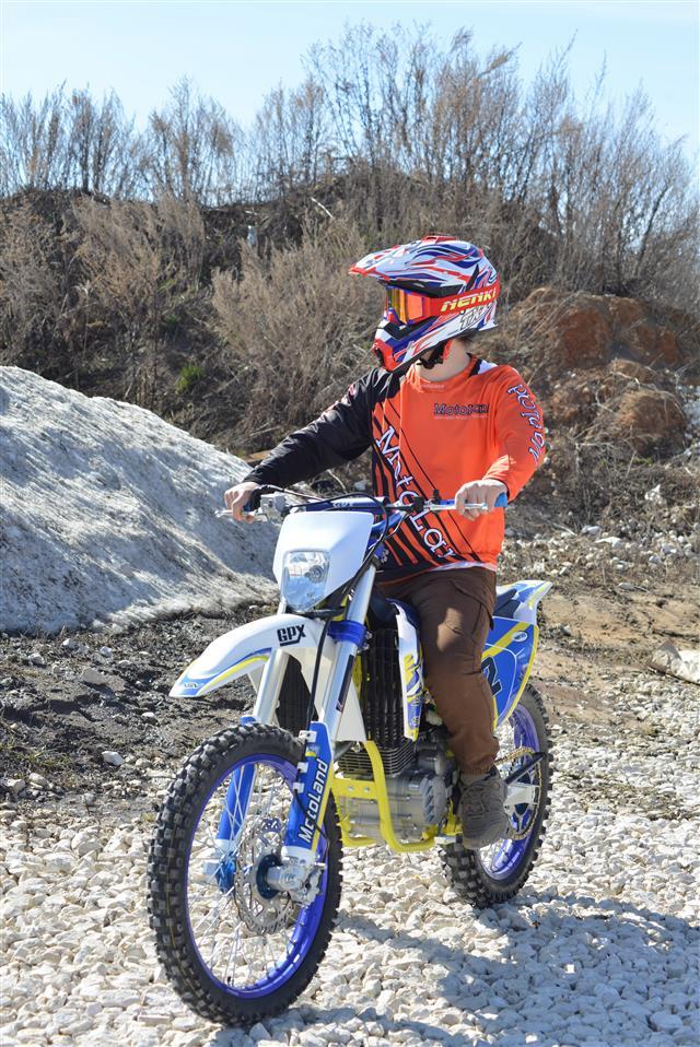 Эндуро мотоцикл Motoland XT250 ST