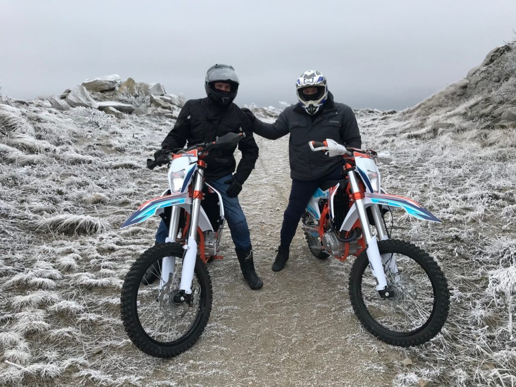 Прокат эндуро мотоциклов в Пятигорске и на КМВ