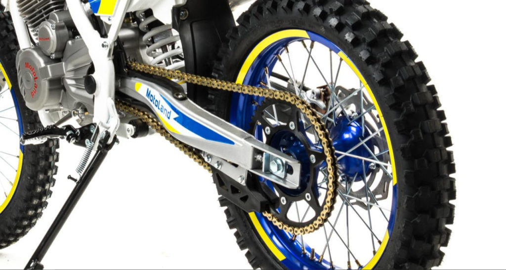 Motoland TT250 (ZS172FMM) Кросс / эндуро мотоцикл с ПТС