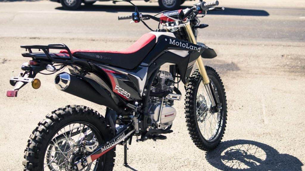 Motoland FC250 Эндуро мотоцикл с птс