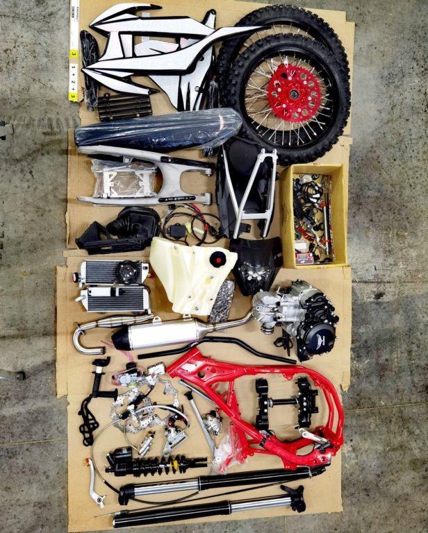 ZUUM ZM 250CB RIDER (ZS172FMM) эндуро/кроссовый мотоцикл